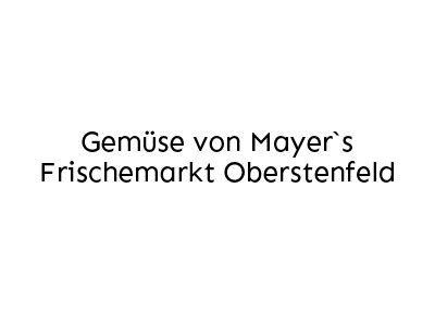 Gemüse von Mayer's Frischemarkt